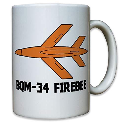 BQM 34 Firebee Zieldrohne Drohne United States Bundeswehr Bund Tasse #12348