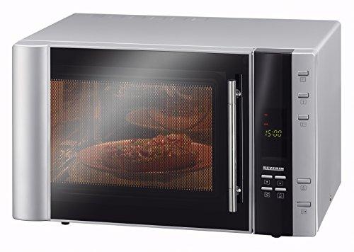 Severin MW 7803 - Horno microondas con grill y aire caliente, 900 W, 30 L,...
