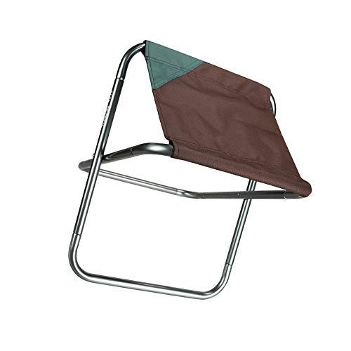 YuuHeeER Taburete plegable de campamento mini para acampar al aire libre, sillas plegables, portátil, 1 pieza