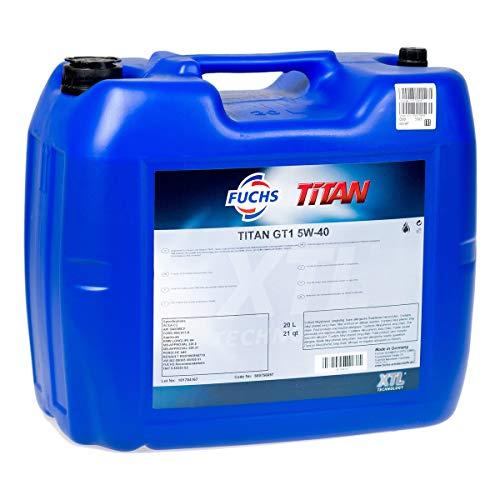 20 Liter Motoröl Fuchs Titan Supersyn 5W-40 20 L Fass