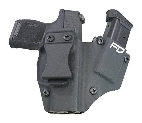 Fierce Defender IWB Kydex Holster Sig P365 The 1 Series -Made in USA- (Black)