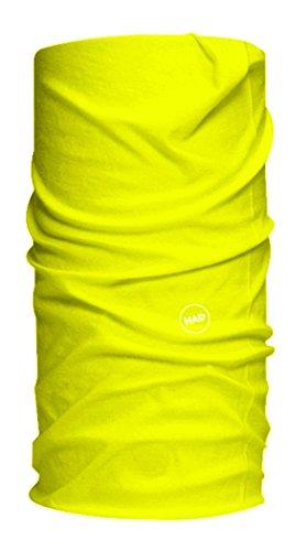 Had® Solid Colours, Sciarpa Unisex, Fluo Yellow, Taglia Unica