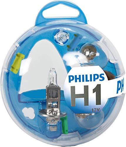 Philips 55717EBKM Boîte d'ampoules de rechange Essential Box H1
