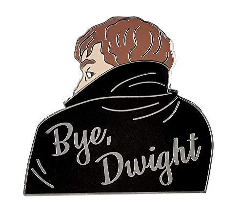 Pinsanity Vampire Jim 'Bye, Dwight' Enamel Lapel Pin