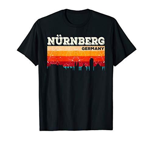 Mein Nürnberg Skyline Deutschland Heimat Stadt Souvenir T-Shirt