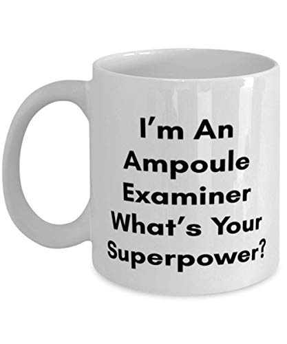 Superpower Ampoule Examiner Mug - Ampoule Examiner Gifts - Best Ampoule Examiner Gifts