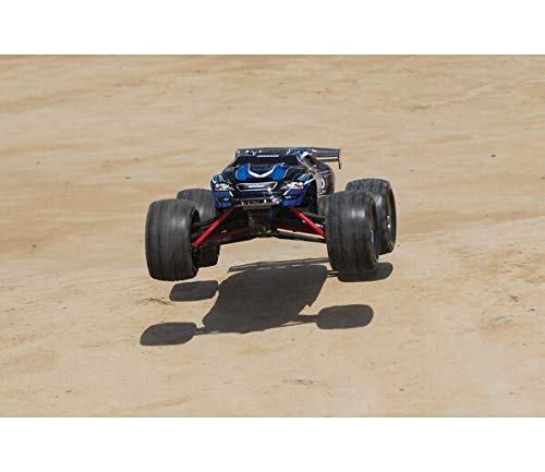 RC Truggy kaufen Truggy Bild 1: Traxxas 71054-1 E-Revo 1:16 Brushed RTR 2,4GHz 4WD RC-Truggy 230V Lader schwarz*