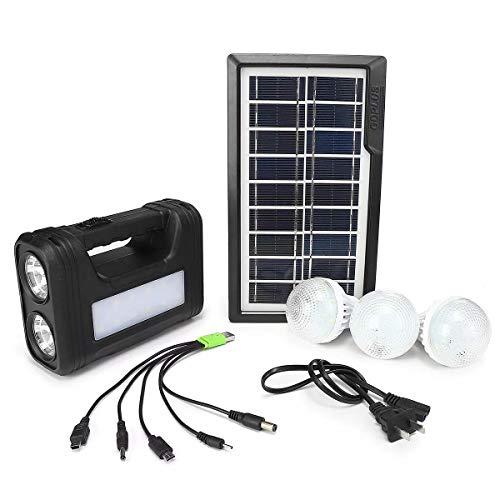 Cheng L Motor, Solar Panel Generator LED-Licht-Lampe Wechselstrom 110V-240V USB Ladegerät Home Outdoor-System Kit Transportable Energie