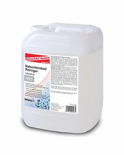 Preisvergleich Produktbild Patina-Fala® NB5 Natursteinbadreiniger - säurefrei - 5 Liter Liter