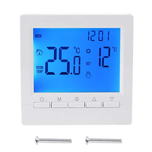 Home Programmable Thermostats,Smart Digital Bluetooth Touch control,Touch Screen,Programmable Temperature control for room temperature, floor heating temperature