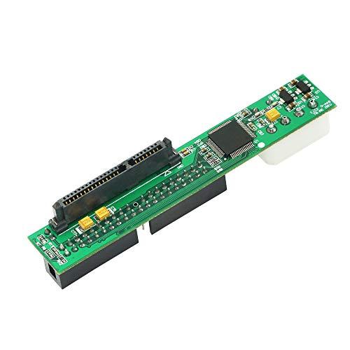 CERRXIAN SSD/SATA auf IDE Bridge Board Adapter, SATA auf PATA IDE Konverter Adapter Plug&Play 7+15 Pin 3,5/2,5 SATA HDD DVD Adapter
