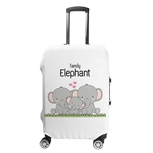 HAOXIANG - Funda Protectora para Maleta de Viaje, diseño de Elefante