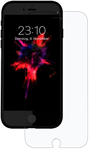 Movoja Display-Schutz-Glas kompatibel mit iPhone 7 (4,7 Zoll) mit 3D Force Touch Unterstützung Schutzfolie Displayschutz Screen Protector