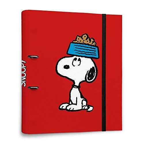 Raccoglitore ad anelli Snoopy, A4, licenza ufficiale