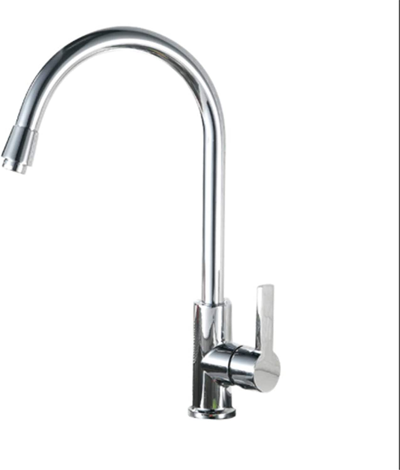 Kitchen Taps Faucetmodern Kitchen Sink Tapsstainless Steelkitchen Faucets, Hot and Cold Dishes, Washing Basins, Sink, Cooling and Heating, redary Laundry Pool.