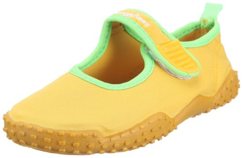 Playshoes Unisex-Kinder Aqua-Schuhe Klassisch, Gelb (Gelb 12), 18/19