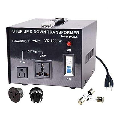 Power Bright Voltage Transformer 110/120 Volt - 220/240 Volt