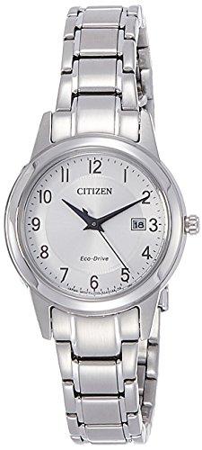 CITIZEN Damen Analog Quarz Uhr mit Edelstahl Armband FE1081-59B