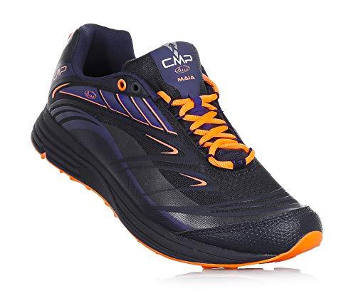 CMP Trail Running Maia Chaussures de Course à Pied à Lacets en Maille à Deux Couches et Tissu synthétique, Bleu Enfant, Garçon, Homme-45