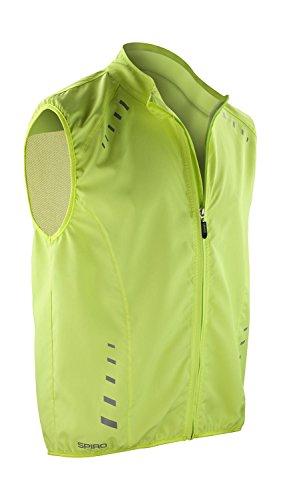 Spiro Herren Bikewear Crosslite Weste Medium neon