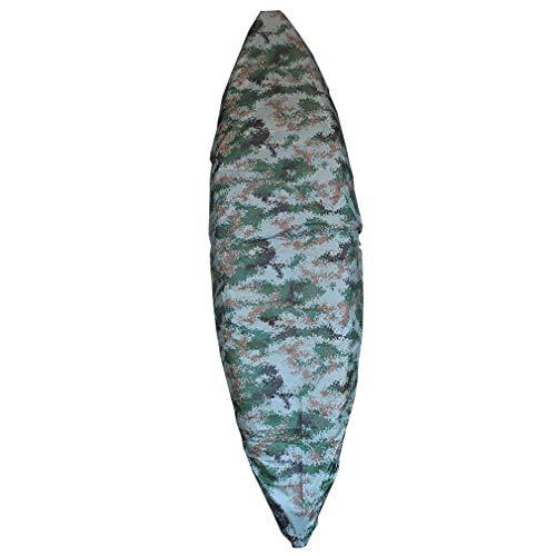 BGSFF Cubierta para Kayak Tela Oxford de Alta Resistencia + Recubrimiento Adicional de PVC Cubierta para Canoa para Bote de Pesca Canoa Almacenamiento al Aire Libre Disponible en una VAR