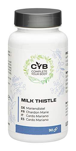 CYB Complete Your Body - Cardo mariano, 90 cápsulas