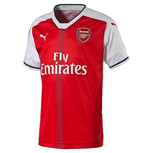 Puma Enfant Arsenal Football Club domicile de football pour homme réplique 16–17 rouge Rouge 13 - 14 ans