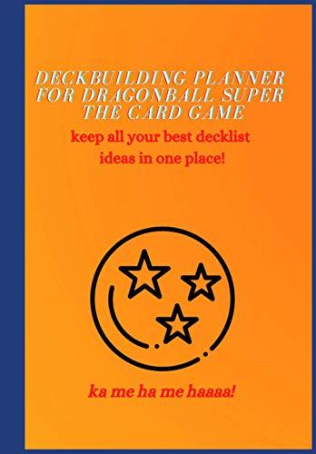 Deckbuilding planner for Dragonball super the card game (Blank line sheet)