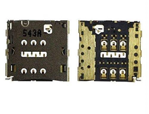 Ricambio Sostituzione alloggio lettore slot card reader contatti Sim da saldare su mainboard per HUAWEI P8 LITE,p7, G7,mate 7 MT7-TL10