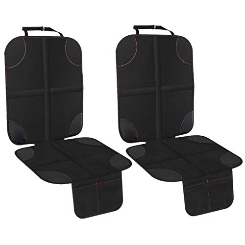 UMJWYJ 2 Pack Car Seat Protector with Thickest Padding Protection for Cars Seats Cover Pad Protects Automotive Vehicle Leathe
