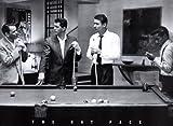 "Laminiertes Poster ""The Rat Pack Pool – Frank Sinatra,"