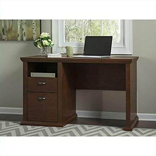 Bh Furniture Yorktown Home Office Desk In Antique Cherry