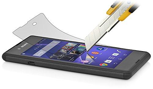 StilGut, Pellicola Protettiva ultraresistente in Vetro temperato per Sony Xperia E3 (2 Pezzi)