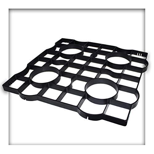 Rasengitter Reitplatzplatten Rasenwaben 50x50x2,5cm Kiesgitter Paddockplatten