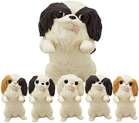 Kitan Club Japanese Chin Dog Plastic Toy Blind Box Includes 1 of 5 Collectable Figurines Fun product image