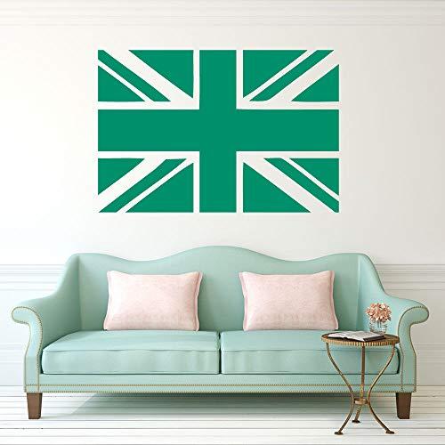 Verwijderbare Union Jack vlag Britse muur Sticker kamer Decor slaapkamer Decal muurschilderingen Parlor slaapkamer behang A-110