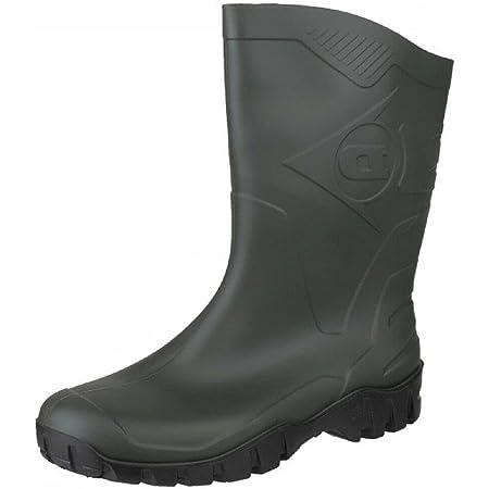 Dunlop Half HIGH Wellington Boots in Green (UK