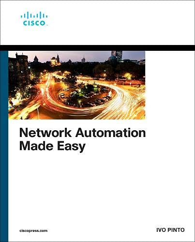 Network Automation Made Easy Front Cover