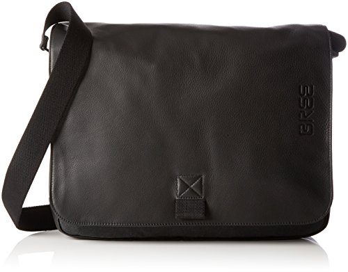 BREE Collection Unisex-Erwachsene Punch Casual 49 Laptop Tasche, Mehrfarbig (Anthra/Black), 28x8x38 cm
