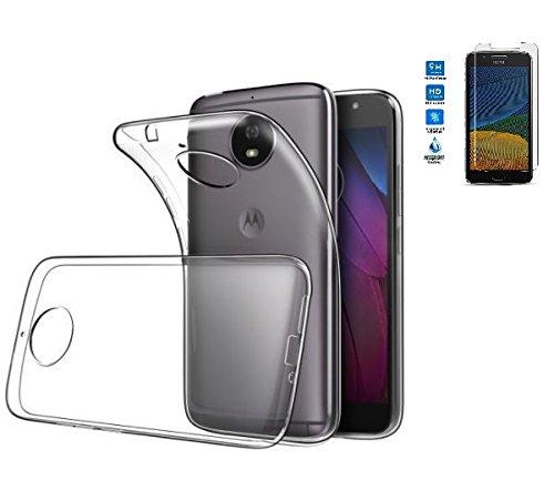 Todobarato24h Funda TPU Lisa Motorola Moto G5 Plus 5.5 Pulgadas Transparente +...