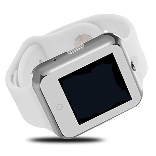 Intelligente Kompatible Android-Apple-Herzfrequenzmessuhr-Sportuhr Weiß