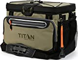Arctic Zone Titan Deep Freeze 30 Can Zipperless HardBody Cooler, Moss