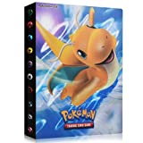 Álbum de Pokemon, Álbum Titular de Tarjetas Pokémon Pokemon Cards Album Pokemon Trading Cards GX EX Carpeta Libro 30 páginas 240 Tarjetas Capacidad (Fast Dragon)
