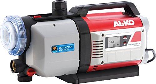 AL-KO Hauswasserautomaten HWA 6000/5 Premium (1400 W Motorleistung, 6000 l/h max. Fördermenge, 60 m max. Förderhöhe, inkl. XXL-Filter)
