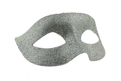 Ladies Mens Venetian Glitter Masquerade Ball Fancy Dress Mask Ribbon Tie Backs