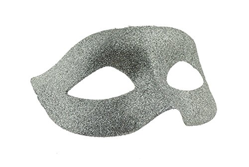 Ladies Mens Venetian Glitter Masquerade Ball Fancy Dress Mask Ribbon Tie Backs