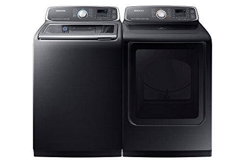 WA52M7750AV+DVE52M7750V Laundry Pair! Electric Dryer