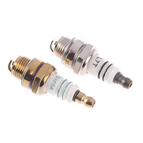 Ignición estator de imán reemplazo del encendedor Accesso 1PCS BM6A Bujía En lugar de M7 / L7T / CJ8 / 1560 55 * 14mm / 2.2 * 0.6 pulgadas de bujías incandescentes estándar de 2 tiempos cadena de sier