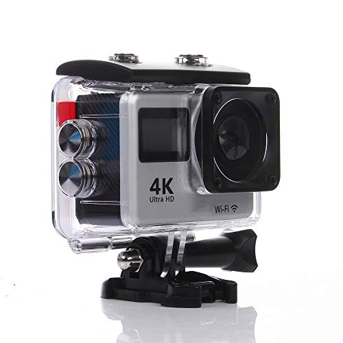FengsHUAI Action Camera, 4K Touch Dual Screen Sport DVWIFI afstandsbediening outdoor waterdichte HD camera duikcamera