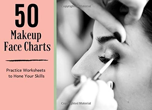 50 Makeup Face Charts | Practice Worksheets to Hone Your Skills